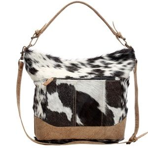 💥NEW💥 Cowhide and Leather Handbag
